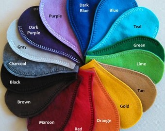 Eye Patch - REVERSIBLE colors - YOU CHOOSE