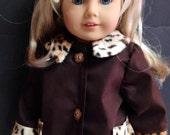 Generation or American Girl Doll Coat