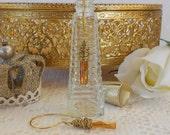 Swarovski Earrings, Crystal Earrings, Dangle Earrings, Wrap Earrings, Brass Wire Wrap Earrings, Column, Copper Glass, Bead Style Magazine