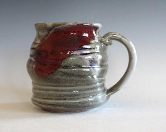 Pottery Coffee Mug, 14 oz, handmade ceramic cup, ceramic stoneware mug, coffee cup