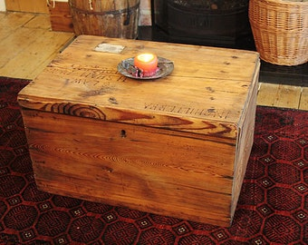 Vintage Chest/Trunk Coffee Table Restored