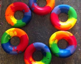 Toddler ring crayons