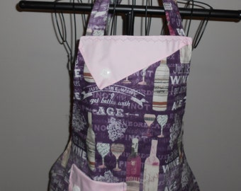 Just Like Wine I Get Better With Age Women's Apron
