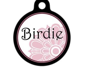 Personalized Pet ID Tag - Birdie Custom Name Pet Tag, Dog Tag, Cat Tag