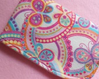 Burp Cloth butterfly New Handmade
