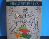 Vintage Mid Century Interior Design Brochure - Upholstery Fabrics Guide