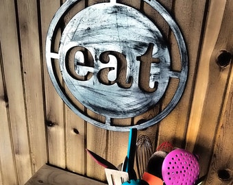 MCM Eat Sign Medallion