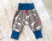 Harem Pants - Baby Infant Toddler Harem Pants - Children's Pants - Boy pants
