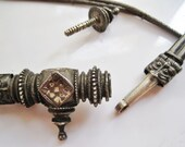 Indian Silver Belt - Hand Woven - Ethnic Jewelry - Tribal Jewelry - Indian Silver Jewelry