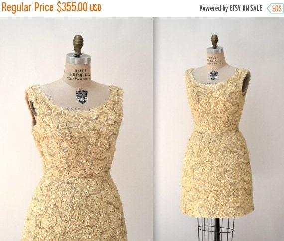 Vintage Wedding Dresses 50s 60s: ON SALE 12% OFF 50s 60s Vintage Wedding Dress In By