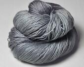 Gray Lady OOAK - BFL Sock Yarn Superwash