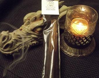 LAVENDER Scent Hand Dipped Stick Incense -- 20 Sticks -- Fresh, Floral, Calming, Mood Elevating