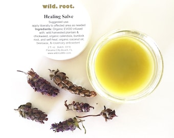 Wild Root Healing Herbal Salve