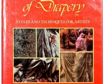 ART OF DRAPERY - Styles and Techniques For Artists, Hardback, Dust Jacket, 1983