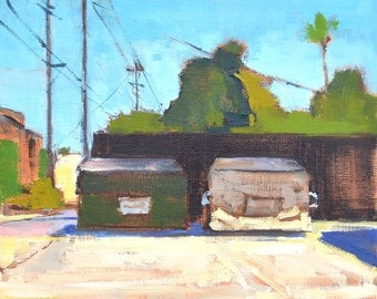 Dumpster Painting North Park San Diego