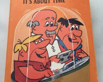 1977 The Flintstones It's About Time Cartoon Booklet