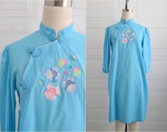 1960s Jodie Arden Asian Nightgown