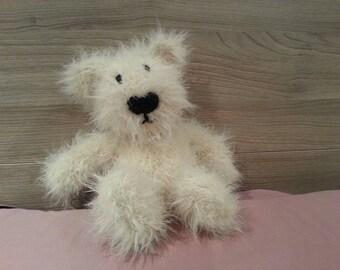 Teddy Bear - Knitted Soft Toy