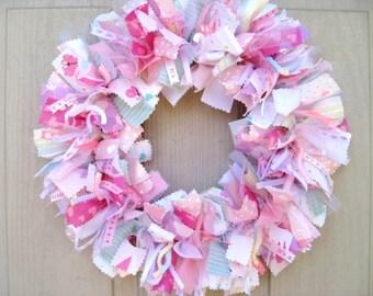 Its A Girl Wreath, Nursery Decor, Newborn Girl Wreath, Baby Shower Decor, Baby Girls Room Decor, Hospital Door Wreath, Pink Door Wreath
