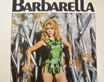 Vintage Barbarella Comic Book Jean Claude Forest 1966 Science Fiction Jane Fonda