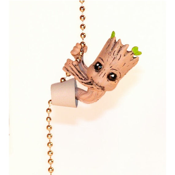 Baby Groot Ceiling Fan Pull Guardians Of By