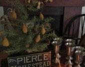 Pewter Goblets- set of four