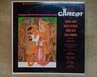 CAMELOT - Original Motion Picture Soundtrack - 1967 Vintage Vinyl Record Album