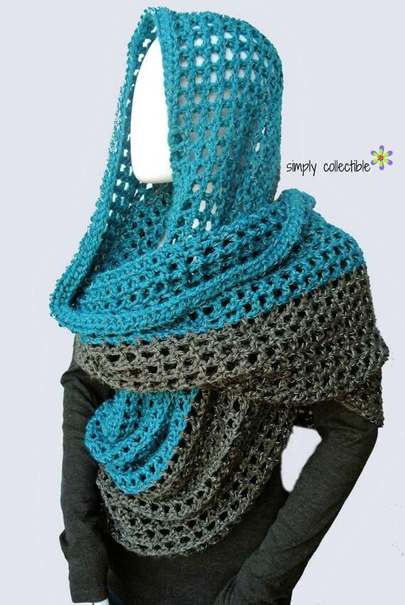 Coraline in Minden Oversized Cowl Wrap Crochet Pattern - Written Pattern PDF