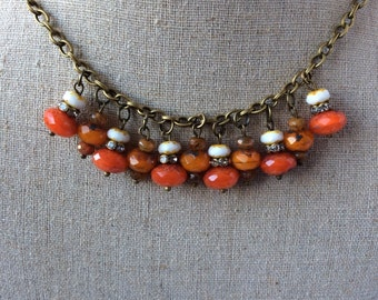Creamsicle II Necklace - NSC- 144