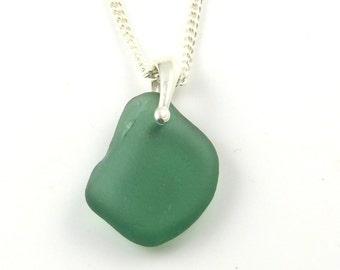 Julep Sea Glass Necklace, Beach Glass Necklace, Seaglass Necklace, Sea Glass Pendant, The Strandline, Minimalist Jewelry, CARLA