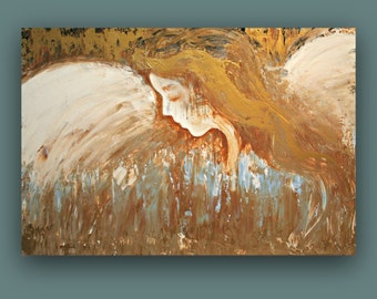 Angel ~ Original Abstract Angel Painting