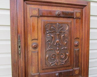 1890's French Cabinet Door-Make one heck of a custom Cabinet front