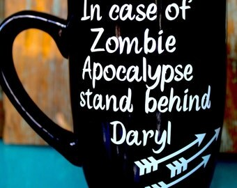 Zombie Coffee Mug, The Walking Dead, Zombie Apocalypse