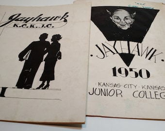 Junior College Yearbook 1950 and 1951
