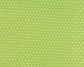 "End of Bolt 1 Yard 8.5"" of Vintage Picnic Green Spot 55128 14 by Bonnie & Camille for Moda"