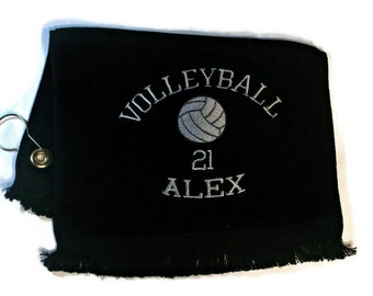 Volleyball sports towel