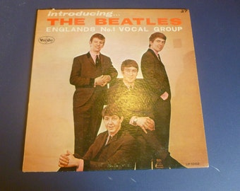 Introducing The Beatles Vinyl  Record LP VJLP 1062 VEE Jay Records 1964