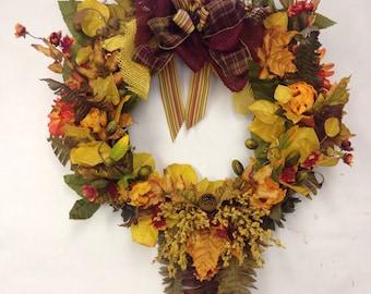 Perfect Fall Wreath