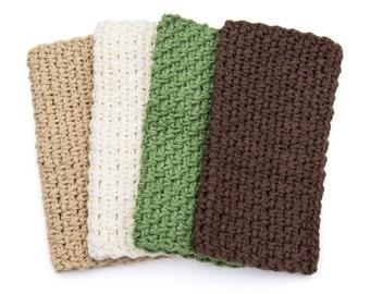 Washcloth - handmade wash cloth, cotton washcloth, crochet washcloth 100% cotton washcloths dishcloth dish cloth Gift Shady Creek Farm