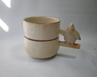 Vintage Owl Whistle Mug