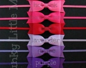 Tuxedo Bow Headband Choose from 20 Colors by The Spunky Little Monkey