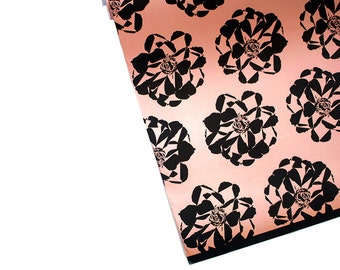 "WEEKEND BLOOMS graphic florals 20"" x 29"" gift wrap sheets"