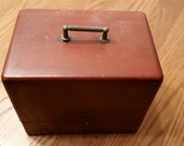 Antique K&D Special Staking Watch Repair Tool Kit Patent 1902 Vintage Wood Case