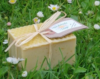 Handmade Castile Soap - no artificial colour or fragrances, 100% natural