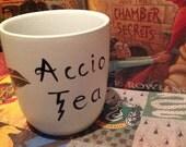 Accio Tea Harry Potter Feather Mug