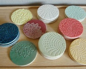textured coasters