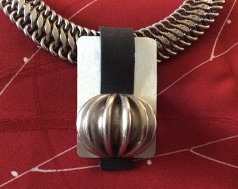 Mid Century Modern inspired Handmade pendant
