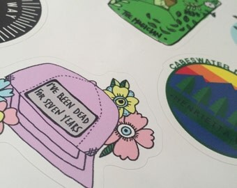 TRC Sticker Pack ( 8 stickers)