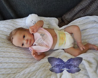 Reborn Baby SOLE Girl Aurora Sky - Laura Lee Eagles