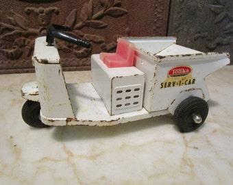 Vintage 1962 'Tonka' Serv-I-Car' with dumping bed!